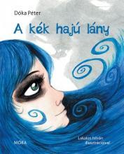 A kék hajú lány borító