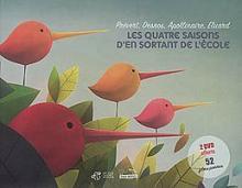 Cover of Les quatre saisons d'En sortant de l'école